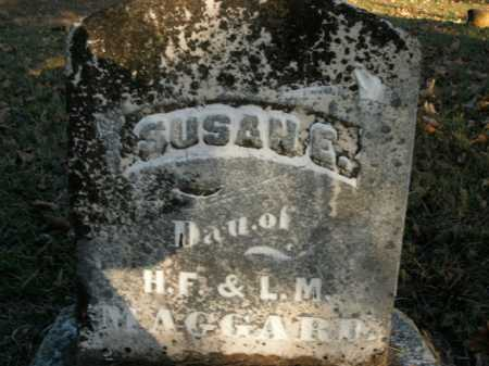 MAGGARD, SUSAN E. - Boone County, Arkansas | SUSAN E. MAGGARD - Arkansas Gravestone Photos