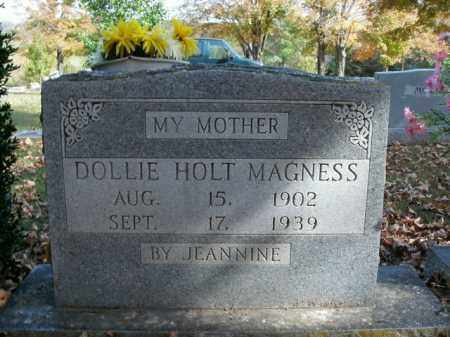 MAGNESS, DOLLIE - Boone County, Arkansas | DOLLIE MAGNESS - Arkansas Gravestone Photos