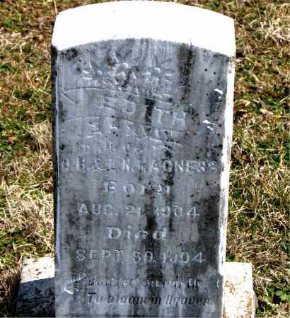 MAGNESS, EDITH - Boone County, Arkansas | EDITH MAGNESS - Arkansas Gravestone Photos