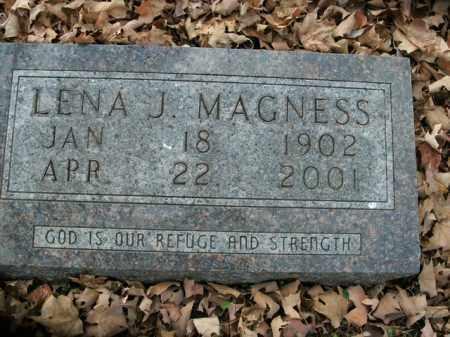 MAGNESS, LENA J. - Boone County, Arkansas | LENA J. MAGNESS - Arkansas Gravestone Photos