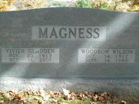 MAGNESS, WOODROW WILSON - Boone County, Arkansas | WOODROW WILSON MAGNESS - Arkansas Gravestone Photos