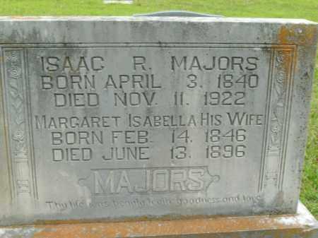 MAJORS, ISAAC R. - Boone County, Arkansas   ISAAC R. MAJORS - Arkansas Gravestone Photos