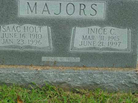 MAJORS, ISAAC HOLT - Boone County, Arkansas   ISAAC HOLT MAJORS - Arkansas Gravestone Photos