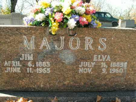 MAJORS, ELVA - Boone County, Arkansas | ELVA MAJORS - Arkansas Gravestone Photos