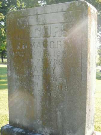 MAJORS, NANCY - Boone County, Arkansas | NANCY MAJORS - Arkansas Gravestone Photos