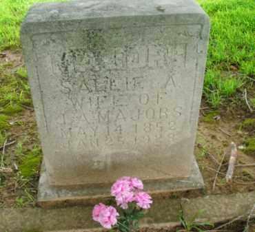 MAJORS, SALLIE A. - Boone County, Arkansas   SALLIE A. MAJORS - Arkansas Gravestone Photos