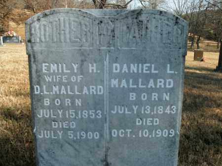 MALLARD, DANIEL L. - Boone County, Arkansas | DANIEL L. MALLARD - Arkansas Gravestone Photos