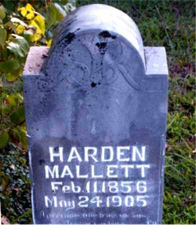 MALLETT, HARDEN - Boone County, Arkansas | HARDEN MALLETT - Arkansas Gravestone Photos