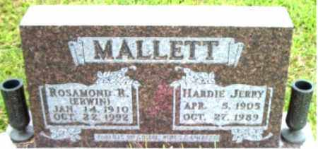 MALLETT, ROSAMOND  R. - Boone County, Arkansas | ROSAMOND  R. MALLETT - Arkansas Gravestone Photos