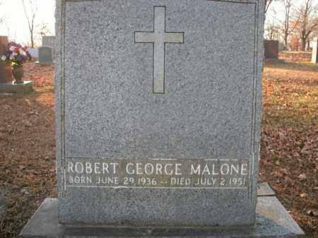 MALONE, ROBERT GEORGE - Boone County, Arkansas | ROBERT GEORGE MALONE - Arkansas Gravestone Photos