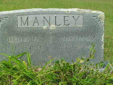 MANLEY, MIRTIA M. - Boone County, Arkansas | MIRTIA M. MANLEY - Arkansas Gravestone Photos