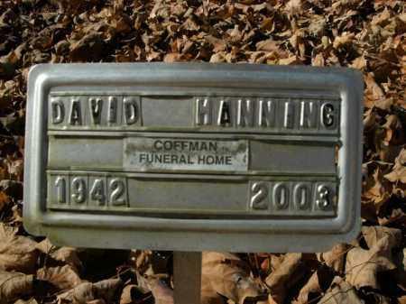 MANNING, DAVID - Boone County, Arkansas   DAVID MANNING - Arkansas Gravestone Photos