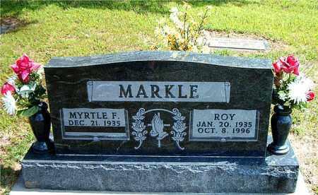 MARKLE, ROY - Boone County, Arkansas | ROY MARKLE - Arkansas Gravestone Photos