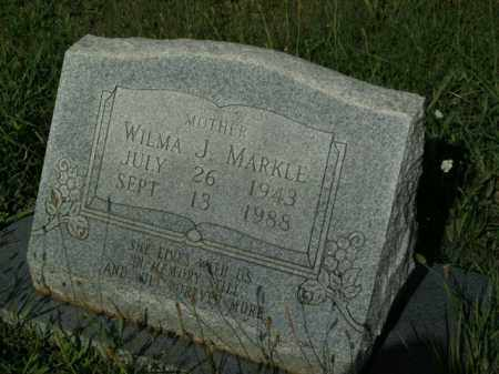 MARKLE, WILMA J. - Boone County, Arkansas | WILMA J. MARKLE - Arkansas Gravestone Photos