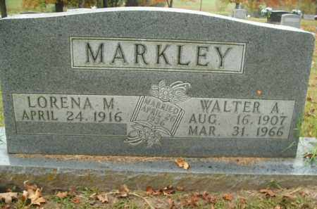 MARKLEY, WALTER A. - Boone County, Arkansas | WALTER A. MARKLEY - Arkansas Gravestone Photos