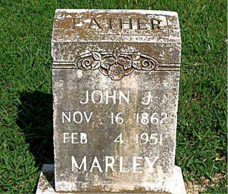 MARLEY, JOHN J. - Boone County, Arkansas   JOHN J. MARLEY - Arkansas Gravestone Photos