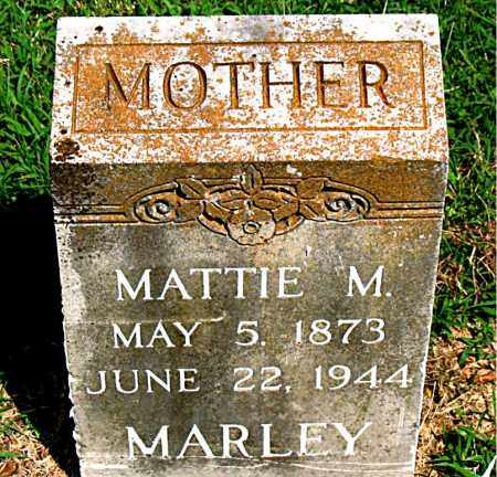HOBBS MARLEY, MATTIE - Boone County, Arkansas | MATTIE HOBBS MARLEY - Arkansas Gravestone Photos