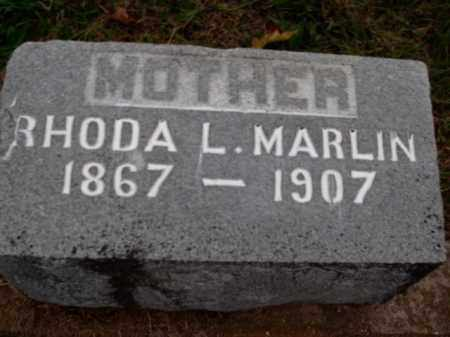 MARLIN, RHODA L. - Boone County, Arkansas | RHODA L. MARLIN - Arkansas Gravestone Photos