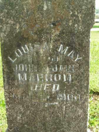 MARROW, LOUISA MAY - Boone County, Arkansas | LOUISA MAY MARROW - Arkansas Gravestone Photos