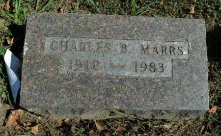MARRS, CHARLES B. - Boone County, Arkansas | CHARLES B. MARRS - Arkansas Gravestone Photos