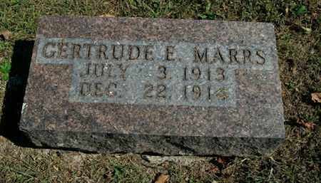 MARRS, GERTRUDE E. - Boone County, Arkansas | GERTRUDE E. MARRS - Arkansas Gravestone Photos