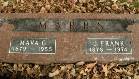 MARRS, MAVA GRACE - Boone County, Arkansas | MAVA GRACE MARRS - Arkansas Gravestone Photos