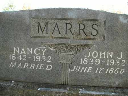 MARRS, NANCY - Boone County, Arkansas | NANCY MARRS - Arkansas Gravestone Photos