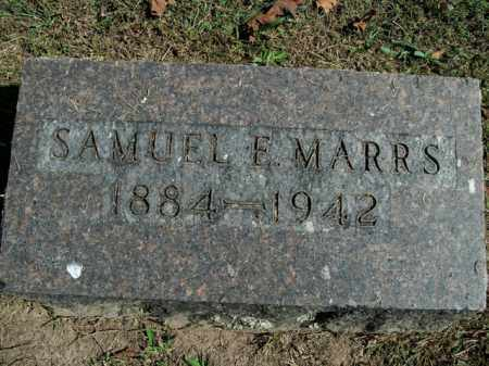 MARRS, SAMUEL ERASMUS (MINISTER) - Boone County, Arkansas | SAMUEL ERASMUS (MINISTER) MARRS - Arkansas Gravestone Photos