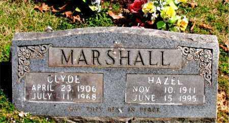 MARSHALL, CLYDE - Boone County, Arkansas | CLYDE MARSHALL - Arkansas Gravestone Photos