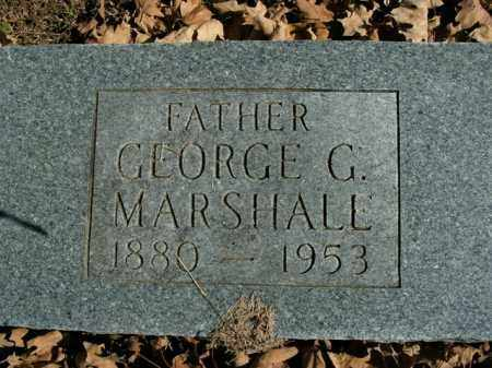 MARSHALL, GEORGE G. - Boone County, Arkansas | GEORGE G. MARSHALL - Arkansas Gravestone Photos