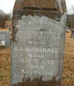 MARSHALL, MIRANDA - Boone County, Arkansas | MIRANDA MARSHALL - Arkansas Gravestone Photos