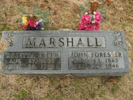 MARSHALL, ROSETTA ELLER - Boone County, Arkansas | ROSETTA ELLER MARSHALL - Arkansas Gravestone Photos