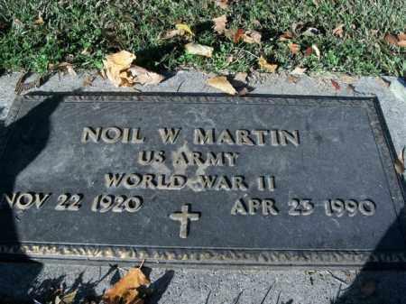 MARTIN  (VETERAN WWII), NOIL W - Boone County, Arkansas   NOIL W MARTIN  (VETERAN WWII) - Arkansas Gravestone Photos
