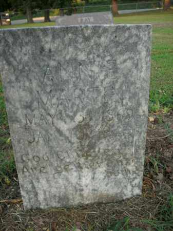 MARTIN, ANNIE CORDELIA - Boone County, Arkansas | ANNIE CORDELIA MARTIN - Arkansas Gravestone Photos