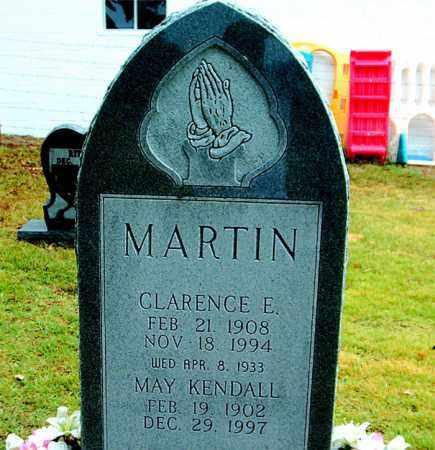 KENDALL MARTIN, MAY - Boone County, Arkansas | MAY KENDALL MARTIN - Arkansas Gravestone Photos