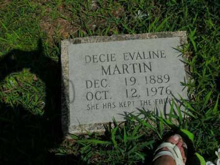 MARTIN, DECIE EVALINE - Boone County, Arkansas   DECIE EVALINE MARTIN - Arkansas Gravestone Photos