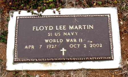 MARTIN  (VETERAN WWII), FLOYD LEE - Boone County, Arkansas | FLOYD LEE MARTIN  (VETERAN WWII) - Arkansas Gravestone Photos