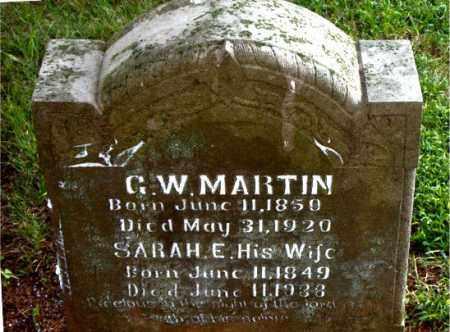 MARTIN, G.  W. - Boone County, Arkansas | G.  W. MARTIN - Arkansas Gravestone Photos
