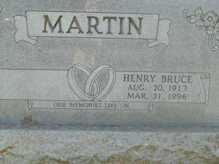 MARTIN, HENRY BRUCE - Boone County, Arkansas   HENRY BRUCE MARTIN - Arkansas Gravestone Photos