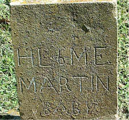 MARTIN, H. L. AND M. E. - Boone County, Arkansas | H. L. AND M. E. MARTIN - Arkansas Gravestone Photos