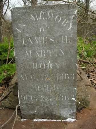 MARTIN, JAMES H. - Boone County, Arkansas | JAMES H. MARTIN - Arkansas Gravestone Photos