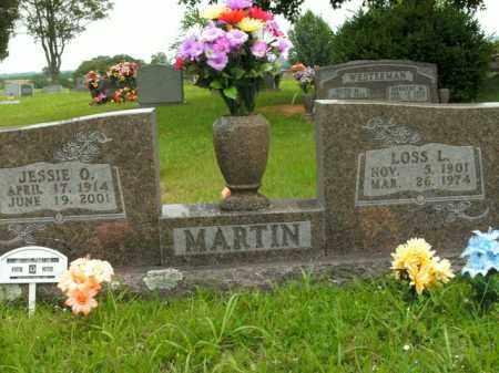 MARTIN, JESSIE O. - Boone County, Arkansas | JESSIE O. MARTIN - Arkansas Gravestone Photos