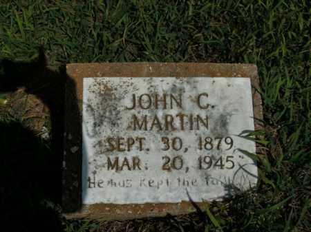 MARTIN, JOHN C. - Boone County, Arkansas | JOHN C. MARTIN - Arkansas Gravestone Photos