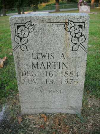 MARTIN, LEWIS ALFRED - Boone County, Arkansas   LEWIS ALFRED MARTIN - Arkansas Gravestone Photos