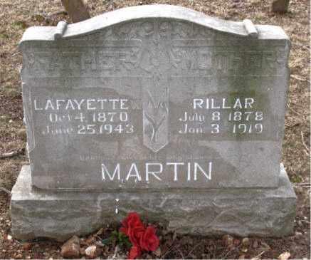 MARTIN, RILLAR - Boone County, Arkansas | RILLAR MARTIN - Arkansas Gravestone Photos