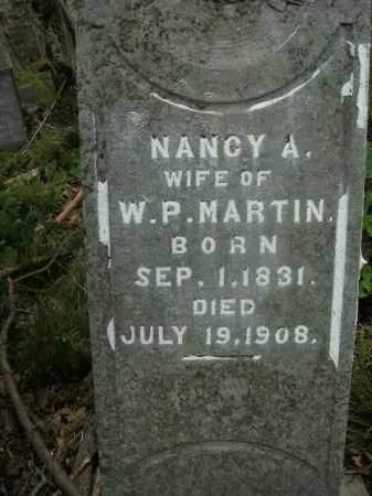 MARTIN, NANCY A. - Boone County, Arkansas | NANCY A. MARTIN - Arkansas Gravestone Photos