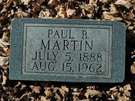MARTIN, PAUL BENJAMIN - Boone County, Arkansas | PAUL BENJAMIN MARTIN - Arkansas Gravestone Photos