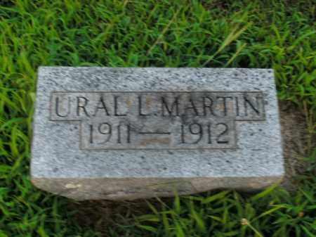 MARTIN, URAL L. - Boone County, Arkansas | URAL L. MARTIN - Arkansas Gravestone Photos