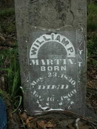 MARTIN, WILLIAM P. - Boone County, Arkansas | WILLIAM P. MARTIN - Arkansas Gravestone Photos