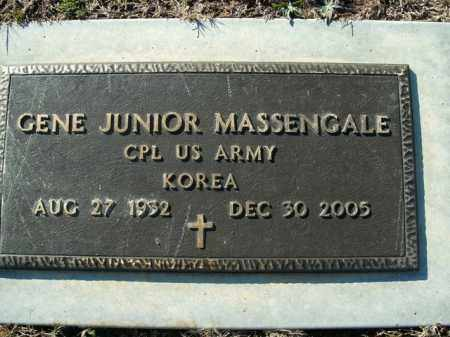 MASSENGALE  (VETERAN KOR), GENE JUNIOR - Boone County, Arkansas   GENE JUNIOR MASSENGALE  (VETERAN KOR) - Arkansas Gravestone Photos